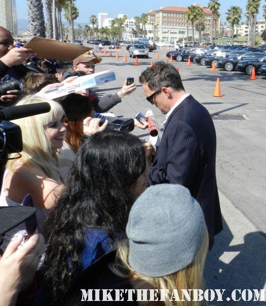 Matthew lillard hot sexy signs autographs for fans at the  Independent Spirit Awards 2012