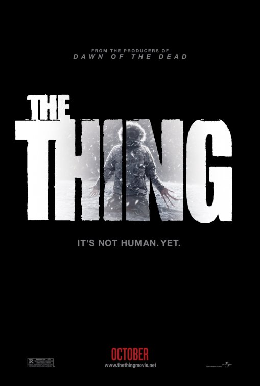 the thing rare one sheet promo movie poster promo joel edgerton rare john carpenter remake