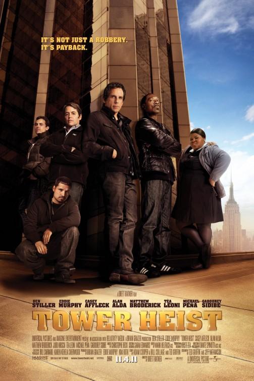 tower_heist movie poster tower heist promo poster ben stiller eddie murphy rare promo