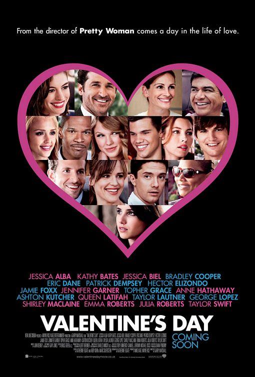 valentines_day rare promo one sheet movie poster julia robert anne hathaway rare jamie foxx hot