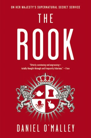 the rook rare dust jacket cover by daniel o'malley rare promo novel book cover review promo rare