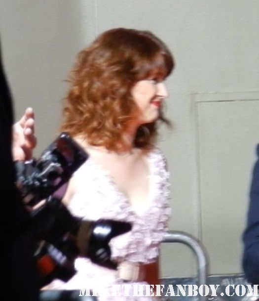 ellie kemper arriving at the 21 jumpstreet movie premeire  for fans at the 21 jumpstreet world movie premiere 21 Jumpstreet World Movie Premiere! Channing Tatum! Jonah Hill! Ellie Kemper And We All Walk Away With Nothing! NOTHING! Debacle! Sigh...