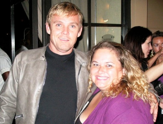 pretty in pink from mike the fanboy with silver spoons star ricky Schroder hot sexy rare promo fan photo