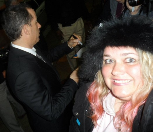 pretty in pinky from mike the fanboy and her failure at meeting mr. jerry seinfeld after his performace at the pantages theare in hollywood