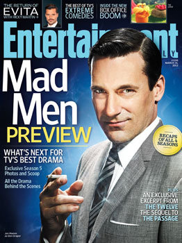 entertainment weekly mad men don draper magazine cover hot sexy jon hamm mad men season 5 promo rare hot sexy promo