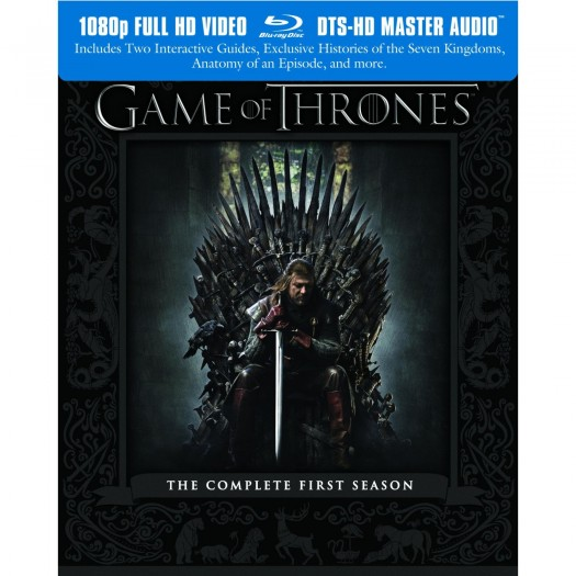 game of thrones rare season 1 blu ray cover art season 1 hot sexy sean bean promo press still
