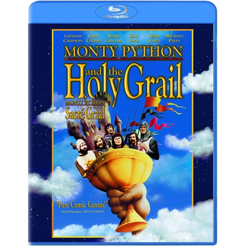 Monty Python and the Holy Grail on Blu-Ray rare cover art hot promo terry gilliam