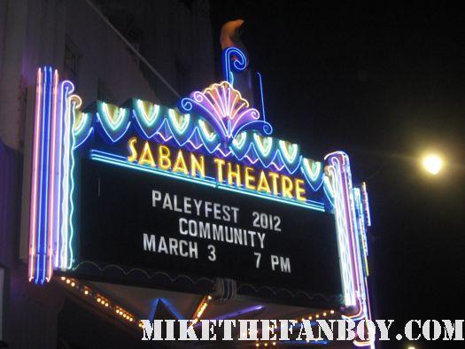 Community Paleyfest Logo saban theatre marquee los angeles paleyfest 2012 community