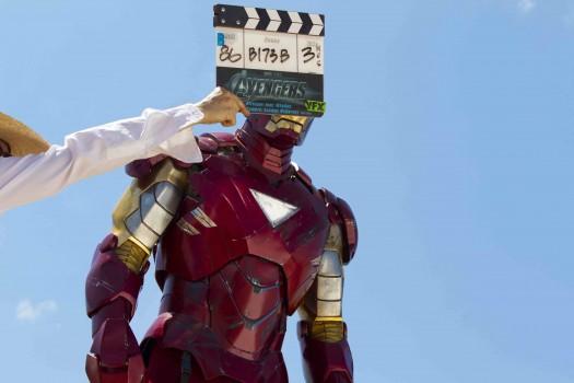 rare iron man press promo behind the scenes still the avengers hot robert downey jr rare promo still joss whedon
