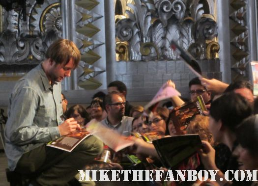Vincent Kartheiser signing autographs at the mad men paleyfest 2012 panel hot sexy angel son rare promo