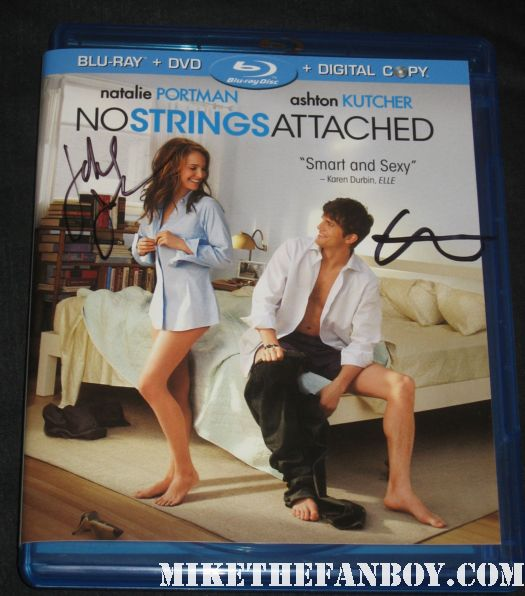 liz Meriwether  signed autograph no strings attached blu ray dvd promo ashton kutcher natalie portman rare promo hot sexy rare