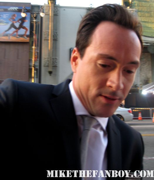 sexy chris klein signing autographs for fans at the american reunion premiere red carpet promo with seann william scott eugene levy alyson hannigan jason biggs