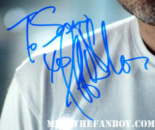 Jeffrey dean morgan signed autograph photo for suddenly susan from mike the fanboy watchmen signature the comedian