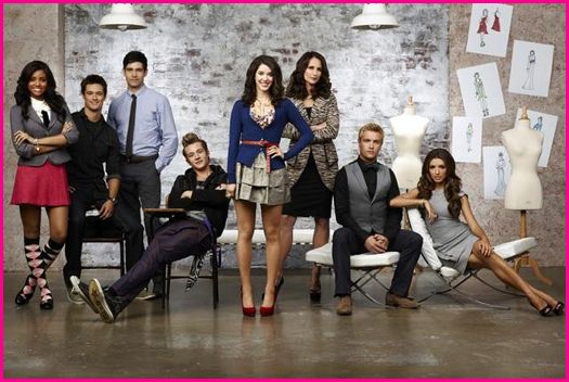 """andie MacDowell and Erica Dasher in a promo press still for Jane by design on abc family rare promo press still hot rare MEAGAN TANDY, MATTHEW ATKINSON, DAVID CLAYTON ROGERS, NICK ROUX, ERICA DASHER, ANDIE MACDOWELL, ROWLY DENNIS, INDIA DE BEAUFORT JANE BY DESIGN - ABC Family's """"Jane By Design"""" stars Meagan Tandy as Lulu Pope, Matthew Atkinson as Nick Fadden, David Clayton Rogers as Ben Quimby, Nick Roux as Billy Nutter, Erica Dasher as Jane Quimby, Andie MacDowell as Grey Chandler Murray, Rowly Dennis as Jeremy Jones and India de Beaufort as India Jourdain. (ABC FAMILY/ANDREW ECCLES)"""