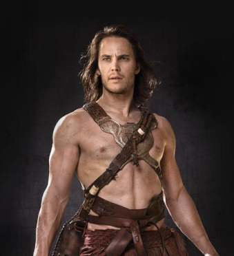 taylor kitsch sexy hot shirtless naked muscle hot rare pecs abs six pack friday night lights the covenant john carter rare promo press photo