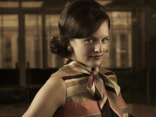 mad men season 5 rare cast photo photo press still elizabeth moss peggy olson rare hot sexy secretary promo photo shoot press still