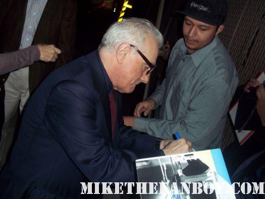 martin scorsese signs autographs for fans after taping a talk show rare autograph casino rare promo shutter island rare hot legendary director