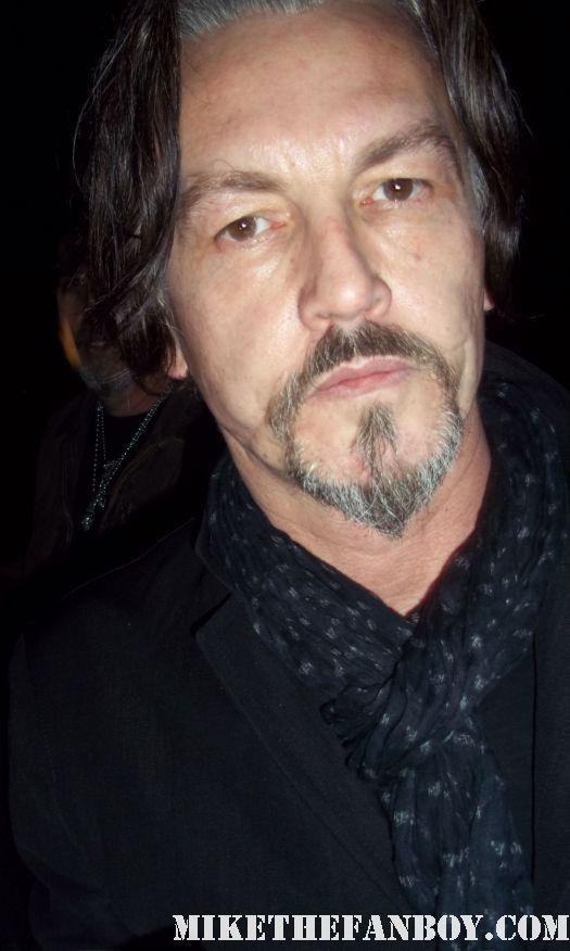 Tommy Flanagan signs autographs for fans at the sons of anarchy paleyfest 2012 panel in hollywood hot sexy rare
