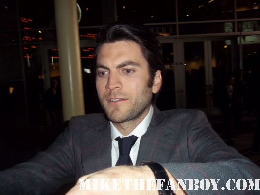 sexy wes bentley signing autographs at the Gone More premiere red carpet with amanda seyfried jennfer carpenter wes bentley autographs hot sexy photo shoot  dexter