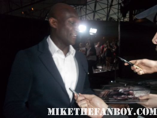 peter mensah sexy hot  arriving and signing autographs at the starz premiere of magic city at the DGA hot sexy spartacus vengeance star