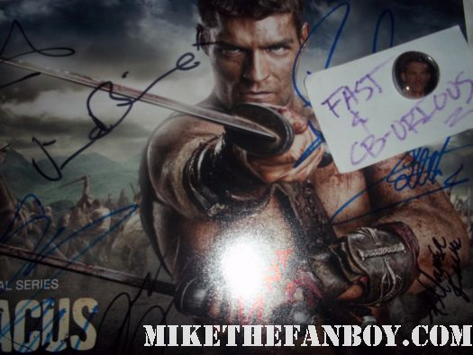 liam mcintyre signed autograph spartacus vengeance rare promo poster photo shirtless hot sexy naked spartacus vengeanceliam McIntyre sexy hot  arriving and signing autographs at the starz premiere of magic city at the DGA hot sexy spartacus vengeance star shirtless naked hot sexy photo shoot