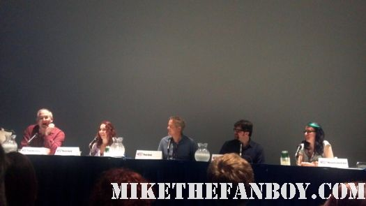 Rewriting History Panel at wondercon 2012 in anaheim rare promo panel hot authors the novel strumpet book reviews