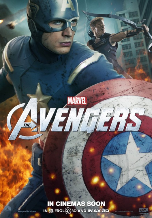 captain american new marvel's avengers individual character poster promo chris evans rare