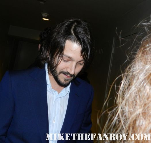 diego luna signing autographs at the casa de mi padre world movie premiere red carpet rare promo will ferrell diego luna Gael García Bernal