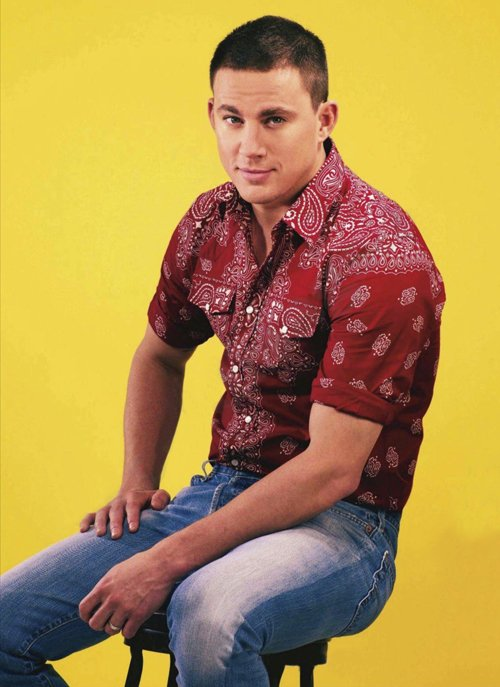 channing-tatum UK GQ Style hot sexy retro style magazine cover promo football retro hot