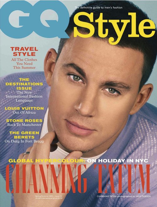 channing-tatum UK GQ Style hot sexy retro style magazine cover promo