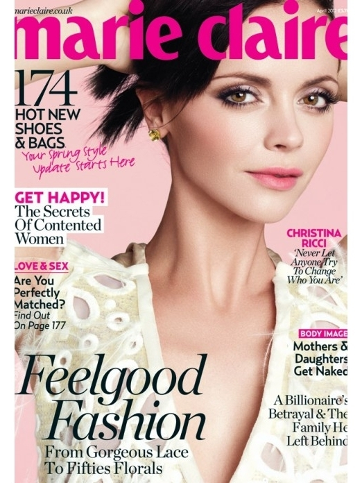 christinariccimarieclaire2012_thumb Christina ricci on the cover of uk marie clarie magazine hot sexy photo shoot rare promo pan am bel ami