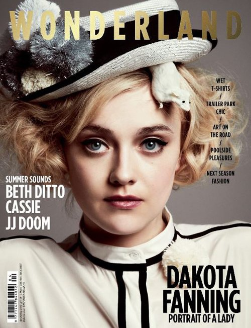 dakota-fanning-wonderland magazine living doll rare promo hot magazine photo shoot rare promo living doll rare hot photo shoot rare promo