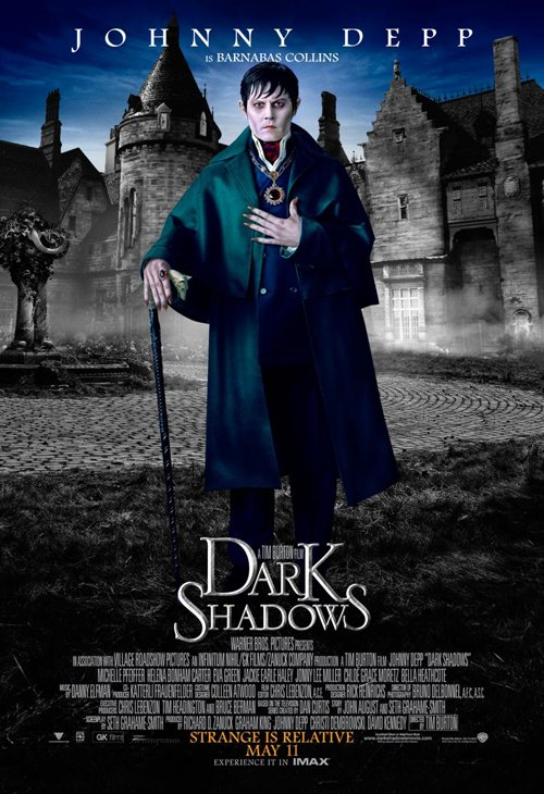 dark-shadows-full-032812- (10) johnny depp individual promo one sheet movie poster promo rare tim burton fantasy film