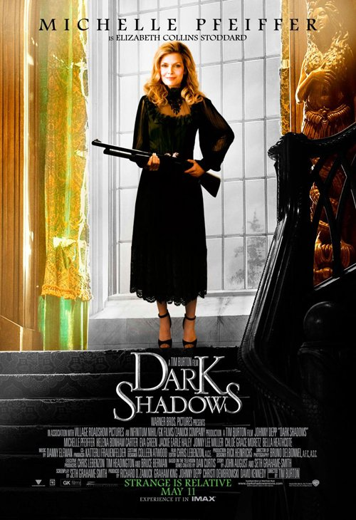 dark-shadows-full-032812- (4) Michelle Pfeiffer rare promo one sheet individual promo one sheet movie poster promo