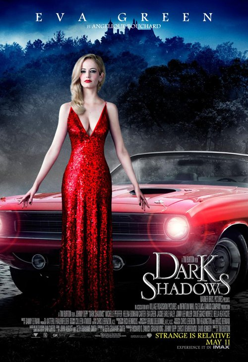 dark-shadows-eva green rare promo dark shadows individual promo movie poster hot sexy rare witch