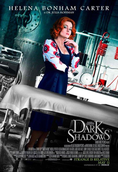 dark-shadows-full-032812- (8) Helena Bonham Carter rare promo one sheet individual promo movie poster tim burton rare promo