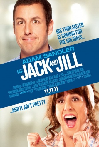 jack_and_jill rare promo one sheet movie poster adam sandler twn sister horrible comedy nightmare