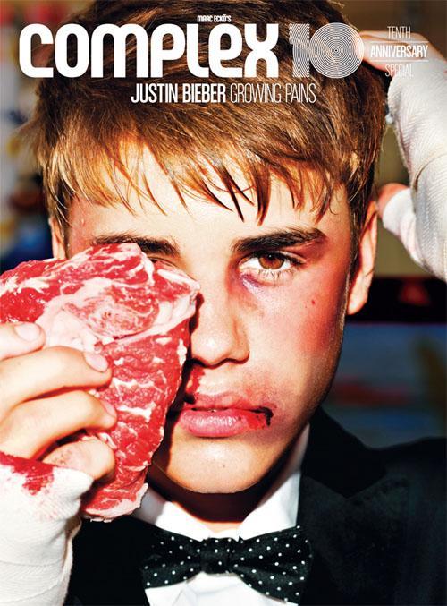 justin-bieber-complex magazine rare cover photo beaten down rare promo hot sexy singer teen heartthrob complex magazine cover