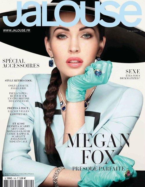 megan-fox-jalouse-0412 sexy hot magazine cover rare promo sexy transformers star
