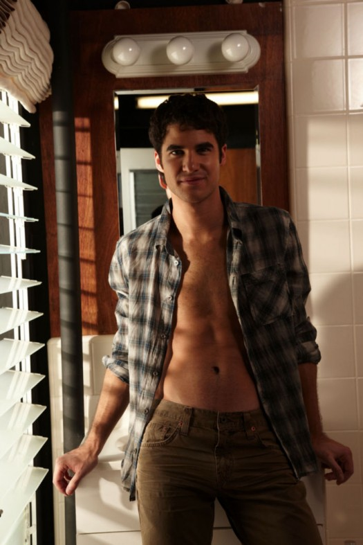 darren criss hot sexy wet shirtless naked rare promo photo shoot glee blaine gay rare frat boy muscle abs pecs naked underwear