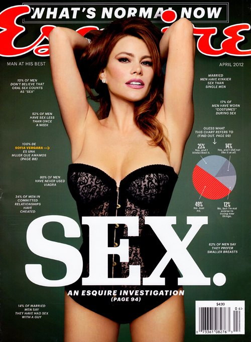 sofia-vergara-esquire-april 2012 sex issue hot sexy photo shoot rare promo gloria modern family sexy hot naked photo rare three stooges