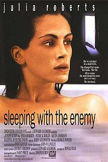 215px-Sleeping_With_The_Enemy rare promo one sheet movie poster promo 1991 action thriller julia roberts patrick bergin hot rare