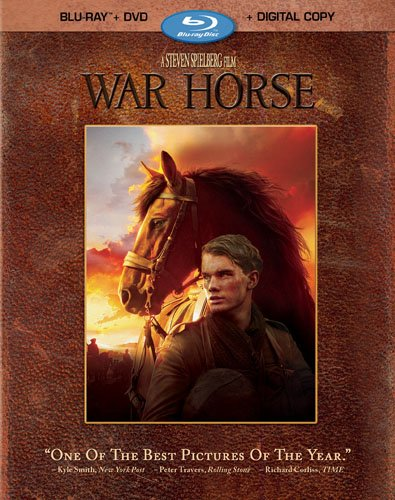war horse 4 disc blu ray combo pack promo press cover art steven spielberg rare promo