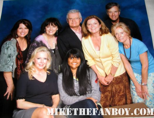 mike the fanboy's awesome anushika posing with the von trapp kids from the sound of music at the hollywood show in burbank signed autograph rare