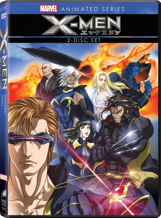 Marvel_X_men_DVD anime rare promo box cover art rare promo the avengers animated rare promo