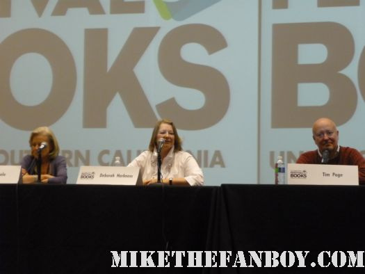 Mind Matter Panel at the los angeles times festival of books 2012 rare promo hot rare