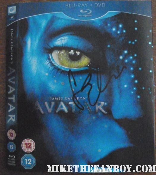 sam worthington signed autograph avatar blu ray dvd sleeve rare promo hot sexy wrath of the titans movie premiere