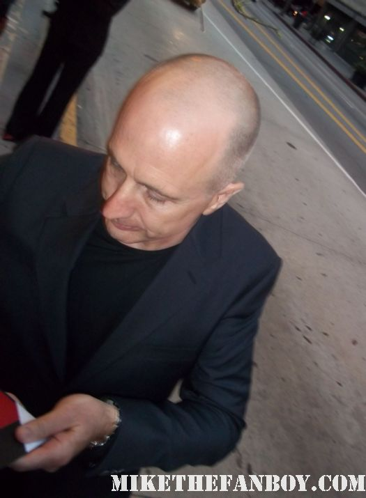 v for vendetta director james McTeigue signs autographs for fans at the raven world movie premiere the raven world movie premiere in los angeles with john cusack alive eve luke evans autographs photos and more marquee