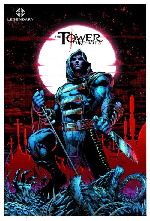 Legendary Comics revealed the Jim Lee cover of their new title, The Tower Chronicles