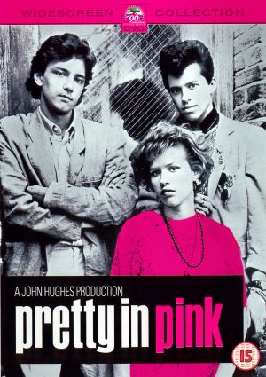 apretty_in_pink rare promo movie poster art james spader jon cryer molly ringwald andrew mccarthey